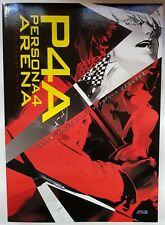 Persona 4 Arena Official Design Works Concept Art Book *New* P4A 3 Atlus