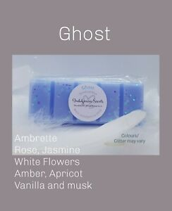 💙Indulgencia Scents-Ghost Scented-Wax Melt Snap Bar💙Handmade Highly Scented