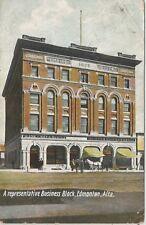 Edmonton Alberta Canada Empire Block Postcard 1908