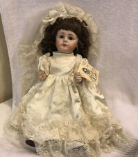 """Antique Doll A Collectable Keepsake Doll By C. Louise A """"Miller Award Winner"""""""