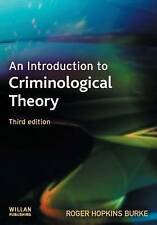 An Introduction to Criminological Theory by Roger Hopkins Burke (Paperback, 200…