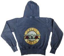 Amplified Guns N 'ROSES Drum Logo Rock Star Vintage Sweat Shirt Hoodie G.L 42/44
