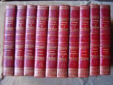 OEUVRES DU COMTE DE TRESSAN.en 10 Vol.Notice CAMPENON.1822-1823.Nepveu.13 grav.