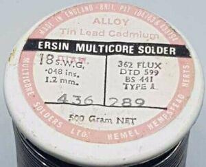 Ersin Multicore Solder/Desolder Wire Low Melt 145-Celcius 1.2mm Diameter