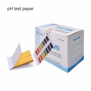 1600 Strisce Test pH 1-14 Universale Laboratorio Acqua Carta Tornasole Indicator