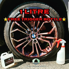 IRON FALLOUT REMOVER X BLEEDING DECONTAMINATION ALLOY WHEEL CLEANER 1L