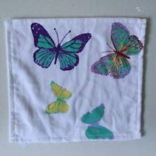 Laura Ashley Summer Meadow Butterflies Face Cloth, BNWT