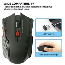 Profess Optical Gaming Mouse Mice 2.4Ghz 6D DPI Adjustable USB FAssional Wirele