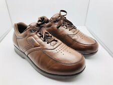 SAS Time Out Lace-up Shoes Brown Walking Mens 9.5 WW