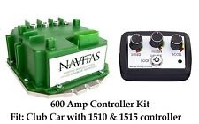 Club Car precedent & DS Navitas 600 Amp Controller, With On The Fly Programmer.