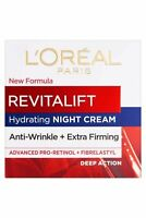 Revitalift L'Oreal NIGHT Anti Wrinkle Firm Cream 50ml Intensive Action