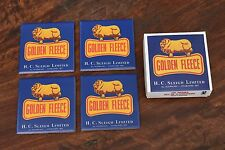 Golden Fleece Ceramic Drink Coaster Set Of 4