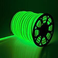 1-50m Flexible Strip Light AC 220V SMD 5050 LED Neon tube Waterproof+ UK Plug