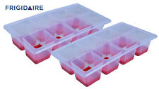 Frigidaire Brand 2 Pack Easy Pop Out Silicone Bottom Jumbo Ice Cube Trays