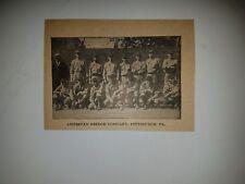 American Bridge Company Pittsburgh Pennsylvania Baseball 1919 Team Picture