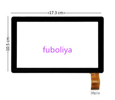 New 7 inch Touch Screen Panel Digitizer Glass For Datawind Ubislate 7ci f8