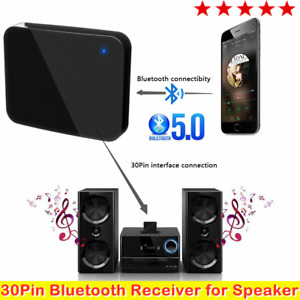 Music Receiver Audio Adapter Bluetooth 5.0 for iPod iPhone 30Pin Dock Speaker HK