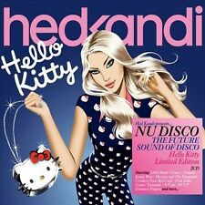 Hed Kandi Nu Disco: Hello Kitty by Various Artists (CD, Oct-2010, 2 Discs, Hed Kandi)