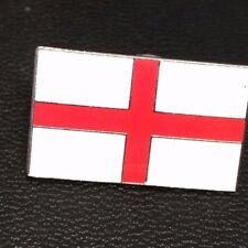 ENGLAND ST SAINT GEORGE NATIONAL FLAG QUALITY METAL ENAMEL LAPEL PIN BADGE