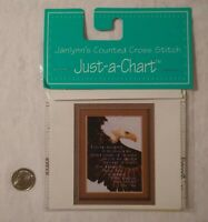 Bald Eagle & Pledge Allegiance Janlynn's Just-A-Chart Counted Cross Stitch