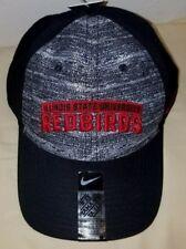 1285 Nike Swoosh Heathered Blk Men Illinois State Redbirds Adjustable Hat -NWT 7cb1622a4986