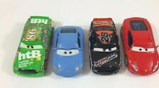 Pixar Car Disney Diecast 1:55  Lot A Set 4 Sally Nitroade Chick Hicks Ferrari