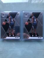 Bol Bol Lot 2 TWO 2019-20 Panini Mosaic Rookie Card RC Base #222 Denver Nuggets