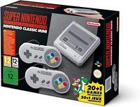 NEW SNES Nintendo Classic Mini: Super Nintendo (EU) Region Free 20+ Games