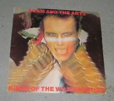 ADAM AND THE ANTS Kings Of The Wild LP Original Classic Rock New Wave Punk