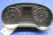 2015 - 2017 AUDI A3 OEM SPEEDOMETER (MPH) *SCUFFED LENS* *43K MILES* 8V092097