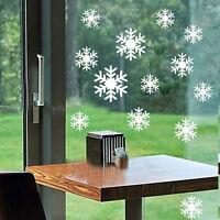 Snowflakes Wall/Window Sticker Vinyl Christmas Decal Removable Decor ku1