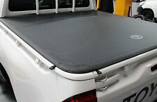 TOYOTA HILUX TONNEAU COVER DUAL CAB J DECK JULY 2015> FLUSH MOUNT NEW GENUINE