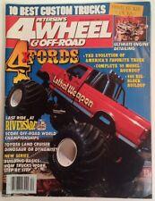 PETERSEN 4 WHEEL & OFF ROAD MAG Dec 1988 Lethal Riverside 10 Best Pepe RARE VHTF
