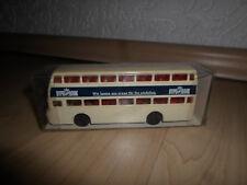 DDR Mini Car Modelle Bus Doppelstockbus Präfekt 25 HypoBank OVP 1:87 H0 Minicar