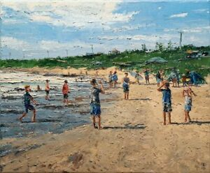 Dusan Malobabic - Catch It! - Original Oil Painting on Canvas - YouTube