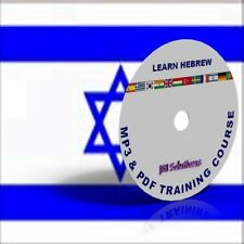 Learn To Speak Hebrew Language fluently Course DVD, MP3 & PDF,Israel language