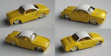Maisto - VW Karmann Ghia Custom gelb/weiß