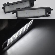 2x Bright White 18-LED License Plate Lights For Toyota RAV4 XA40 2013-2015 Auris