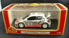Guisval ◊ Peugeot 206 WRC - Total #1 T.Rautiainen  ◊ 1/43  ◊  boxed/en boîte ◊