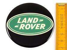 LAND ROVER ★ 4 Stück ★ SILIKON Ø70mm Aufkleber Emblem Felgenaufkleber Radkappen
