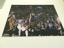 Kobe Bryant 16x20 Picture NBA Basketball Los Angeles Lakers Photo Action Pose