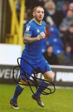 AFC WIMBLEDON: BARRY FULLER SIGNED 6x4 ACTION PHOTO+COA