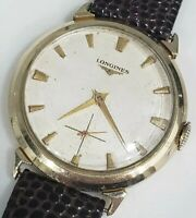 VINTAGE LONGINES CLASSIC Ref 1028 1950s MENS MANUAL WINDING CAL 27M WATCH