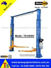 NEW 2 post, 4 ton Car Hoist, Vehicle Lift, Car Lift, WorkSafe VIC Approved