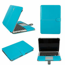 Premium PU LEATHER  Smart Sleeve Case Cover for Apple MacBook Models