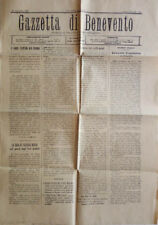 Gazzetta di Benevento - 1922. Giornale Politico Amministrativo. 1922. .