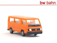 Herpa H0 041621 Mercedes Benz 100 D Bus - orange