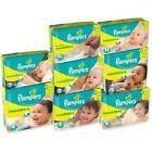 Pampers Swaddlers Diapers Jumbo Pack Preemie All Size Newborn 1 2 3 4 5 6