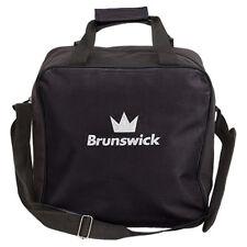 Brunswick TZone Single Tote 1 Ball Bowling Bag Black
