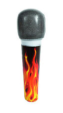 "INFLATABLE MICROPHONE 8"" FOR BIRTHDAY PARTY SUPPLIES OR KARAOKE PARTIES..!!"